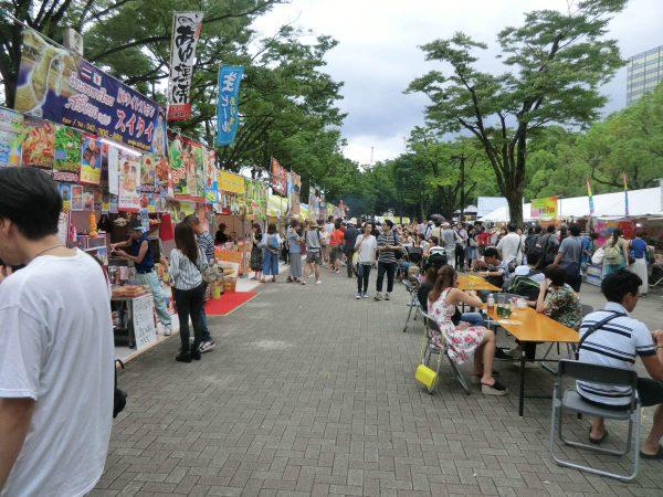 タイフェアin東京2017(代々木公園ケヤキ並木)